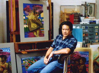 fil delacruz - filipino painter and printmaker